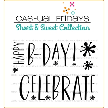 CAS-ual Fridays CELEBRATE Clear Stamps SS1801