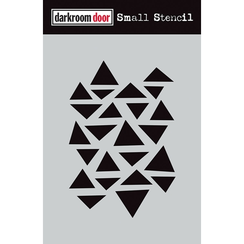Darkroom Door ARTY TRIANGLES Small Stencil ddss017 Preview Image