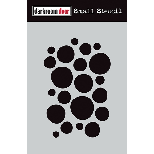 Darkroom Door ARTY CIRCLES Small Stencil ddss016 Preview Image