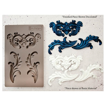 Prima Marketing EVERLEIGH FLOURISH Re-Design Decor Mould 632250
