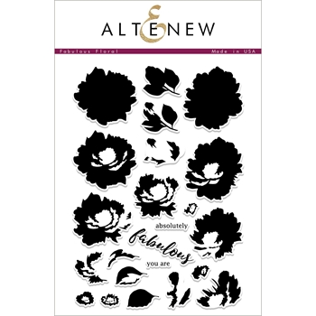 Altenew FABULOUS FLORAL Clear Stamps ALT2261
