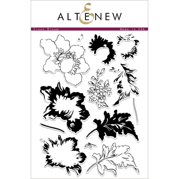 Altenew CROWN BLOOM Clear Stamps ALT2259