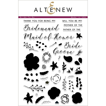 Altenew BRIDE TO BE Clear Stamps ALT2257