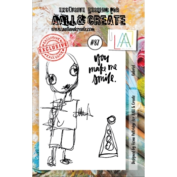 AALL & Create GABRIEL 87 Clear Stamp Set aal00087