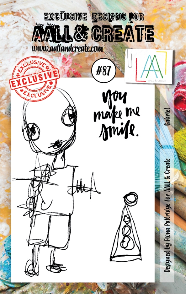 AALL & Create GABRIEL 87 Clear Stamp Set aal00087 zoom image