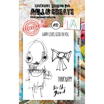 AALL & Create BRINLEY 92 Clear Stamp Set aal00092