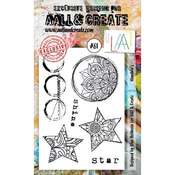 AALL & Create MANDALAS 61 Clear Stamp Set aal00061