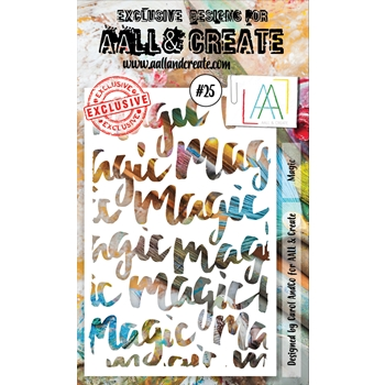 AALL & Create MAGIC Stencil 25 aal10025