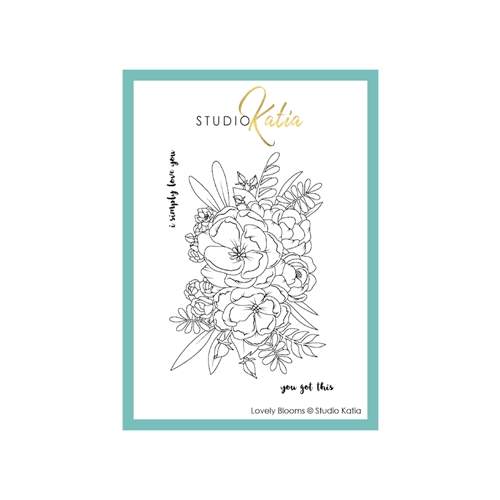 Studio Katia LOVELY BLOOMS Clear Stamps stks058 Preview Image