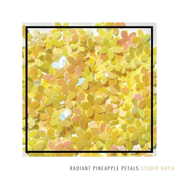 Studio Katia RADIANT PINEAPPLE PETALS Flower Sequins sk2520