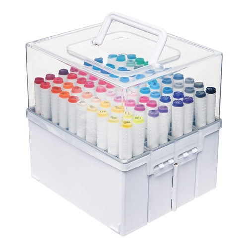 Deflecto EXPANDABLE MARKER ACCORDION Organizer 29133cr* Preview Image