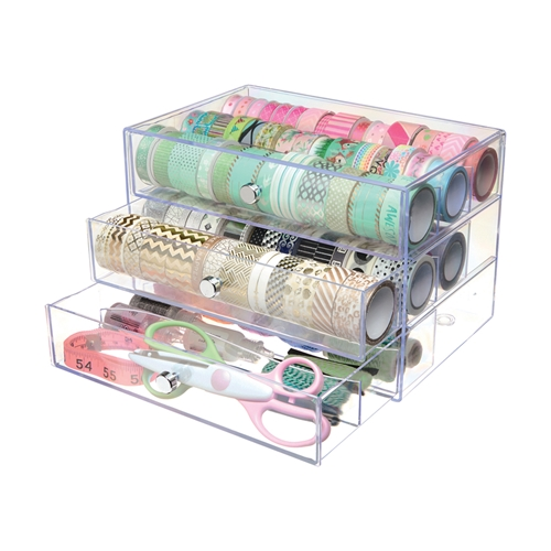 Deflecto WASHI TAPE STORAGE Cube 350901cr Preview Image