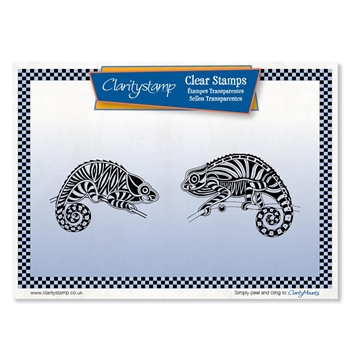 Claritystamp CHAMELEONS Clear Stamps staan10605a5