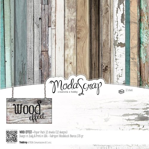 ModaScrap WOOD EFFECT 12x12 Paper wepp30 Preview Image