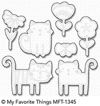 My Favorite Things MEOW MIX Die-Namics mft1345 Preview Image