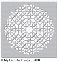 My Favorite Things MOROCCAN MOSAIC Mix-ables Stencil st108