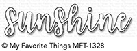 My Favorite Things SUNSHINE Die-Namics mft1328