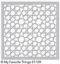 My Favorite Things GEOMETRIC STARS Mix-ables Stencil st109