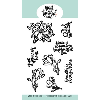 Neat and Tangled MAGNOLIA Clear Stamps NAT391