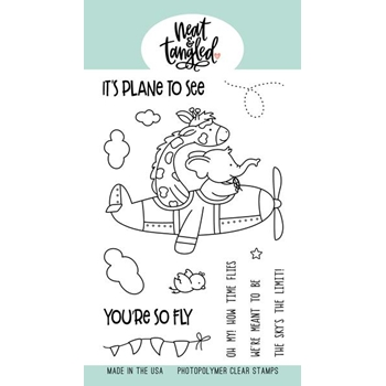 Neat and Tangled SO FLY Clear Stamps NAT387