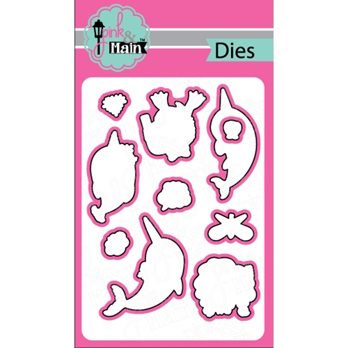 Pink and Main NARWHALS Dies PNM157 Preview Image