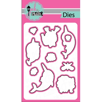 Pink and Main NARWHALS Dies PNM157