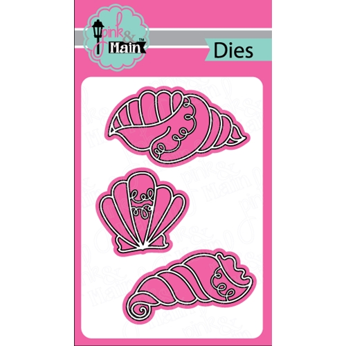 Pink and Main FANCY SHELLS Dies PNM154 Preview Image
