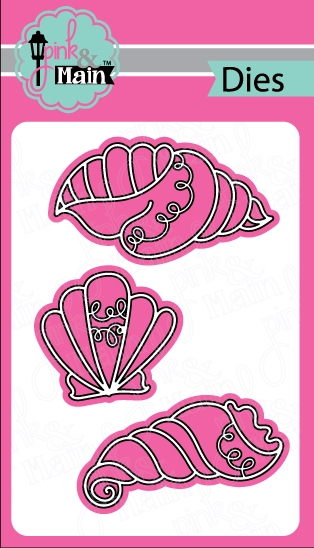 Pink and Main FANCY SHELLS Dies PNM154 zoom image