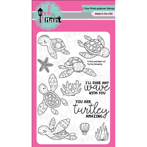 Pink and Main TURTLEY AMAZING Clear Stamps PM0288 Preview Image