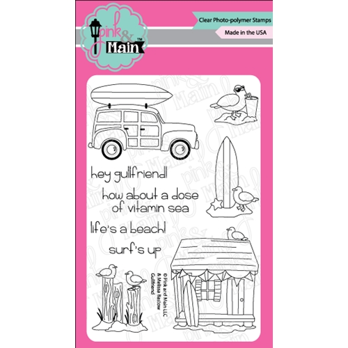 Pink and Main GULLFRIEND Clear Stamps PM0281 Preview Image