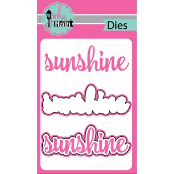 PInk and Main SUNSHINE Dies PNM160