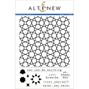 Altenew MOROCCAN MOSAIC Clear Stamps ALT2333