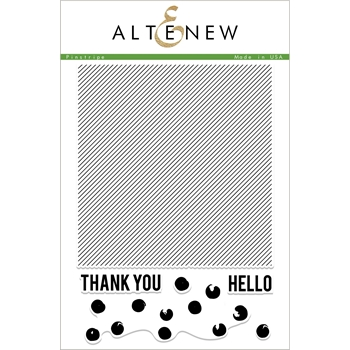 Altenew PINSTRIPES Clear Stamps ALT2337