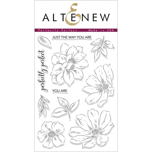 Altenew PERFECTLY PERFECT Clear Stamps ALT2334 Preview Image