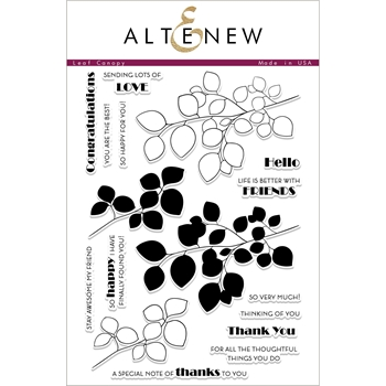Altenew LEAF CANOPY Clear Stamps ALT2330