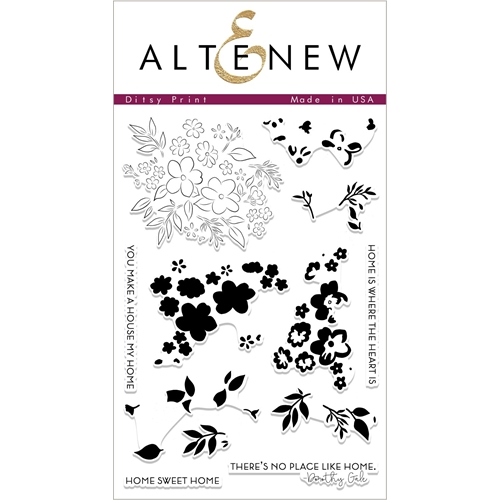 Altenew DITSY PRINT Clear Stamps ALT2324 Preview Image