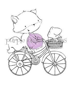 Purple Onion Designs FREE SPIRITS Cling Stamp pod1000 Preview Image