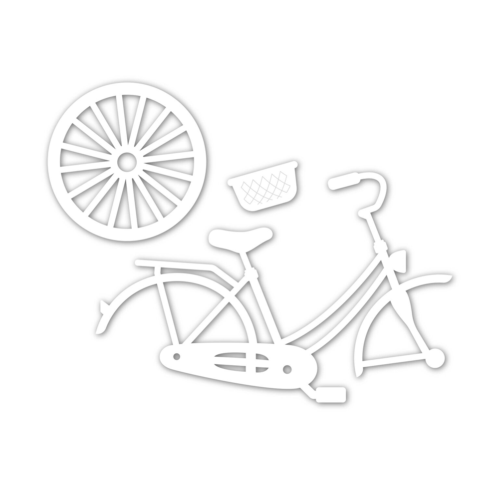 Simon Says Stamp CLASSIC BICYCLE Wafer Dies sssd111846 Good Vibes zoom image