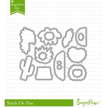 SugarPea Designs STUCK ON YOU SugarCuts Dies spd-00295