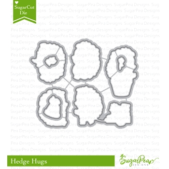 SugarPea Designs HEDGE HUGS SugarCuts Dies spd-00299