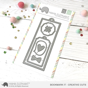 Mama Elephant BOOKMARK IT Creative Cuts Steel Dies