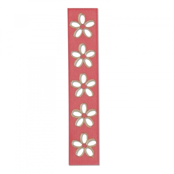 Sizzix FLORAL CUTOUTS Movers and Shapers Magnetic Die 662814