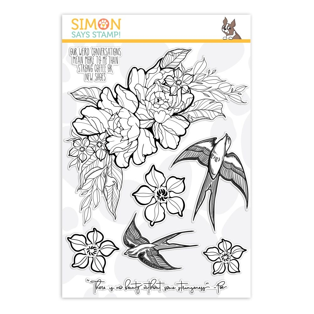 Simon Says Clear Stamps STRANGENESS
