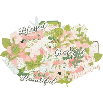 Kaisercraft FULL BLOOM Collectables Die Cut Shapes CT939