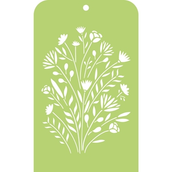 Kaisercraft FLOWER BUNCH Mini Designer Stencil Template IT034