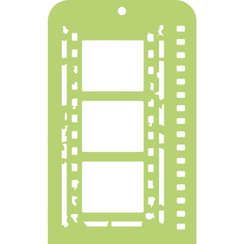 Kaisercraft FILM STRIP Mini Designer Stencil Template IT033