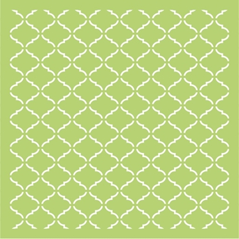 Kaisercraft LATTICE 6x6 Inch Designer Stencil Template IT469