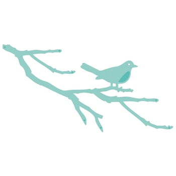 Kaisercraft BIRD BRANCH Decorative DIY Cut Die DD488