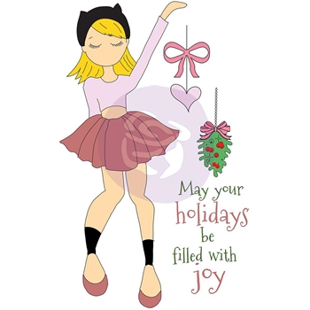 Prima Marketing JOY Julie Nutting Christmas Stamp 912369