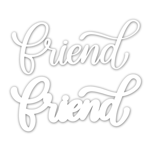 Simon Says Stamp BIG FRIEND Wafer Dies sssd111843 Good Vibes Preview Image